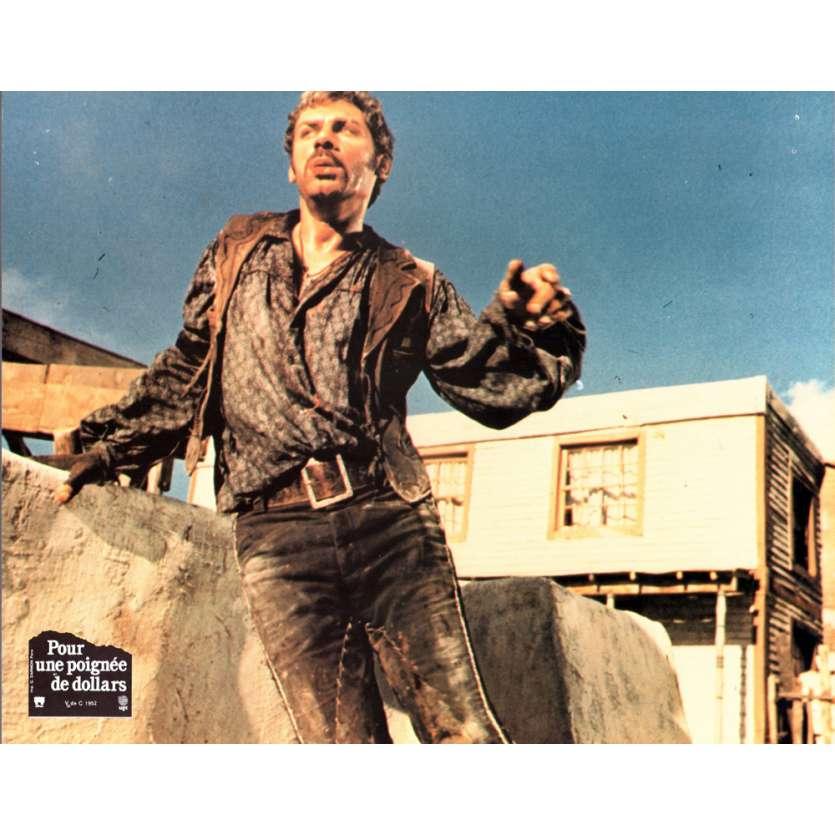 FISTFUL OF DOLLARS 9x11 French Lobby Card R70 Clint Eastwood, Leone N12