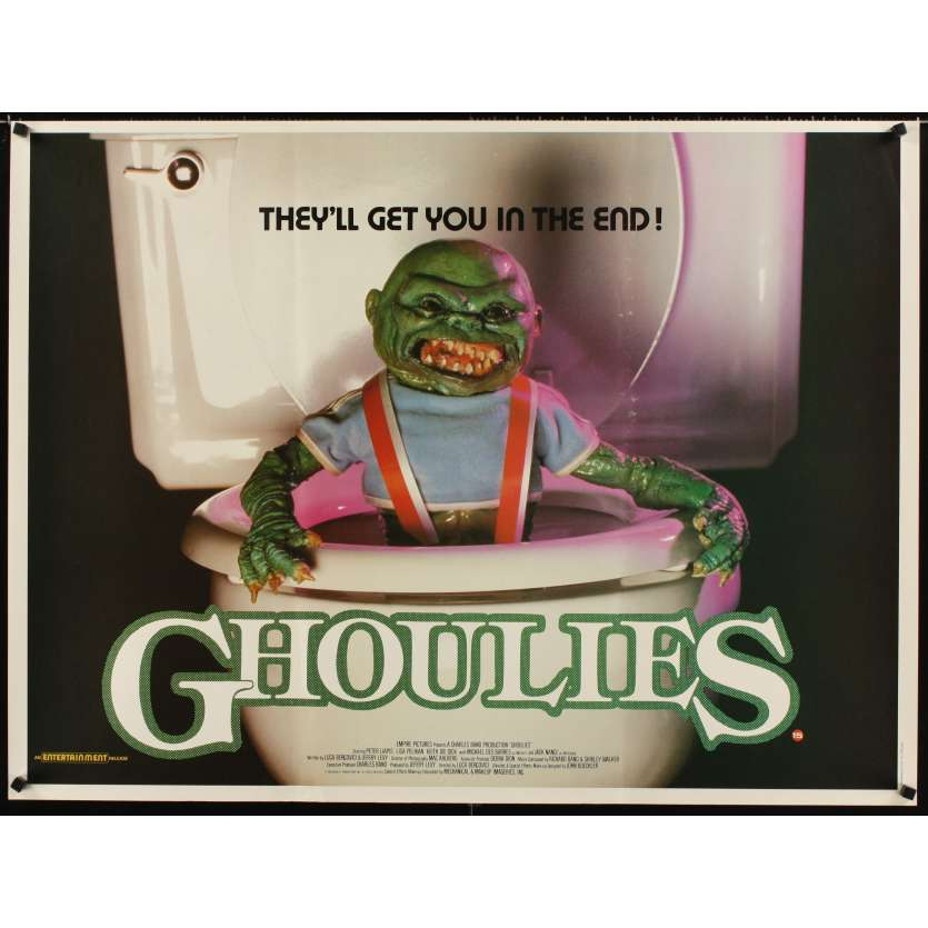 GHOULIES Movie Poster