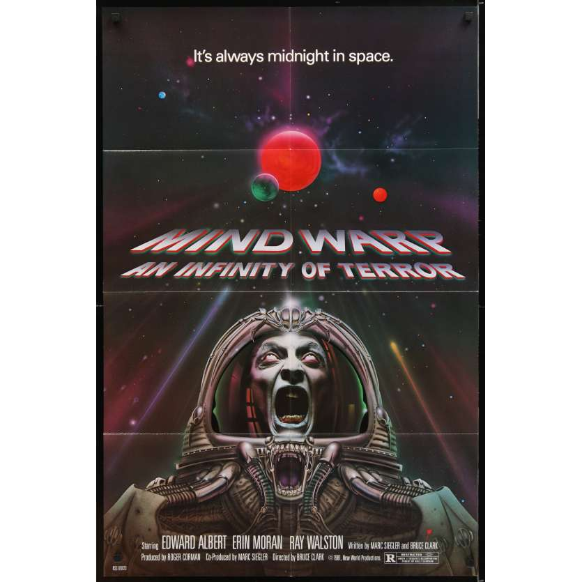 GALAXY OF TERROR Movie Poster - Roger Corman
