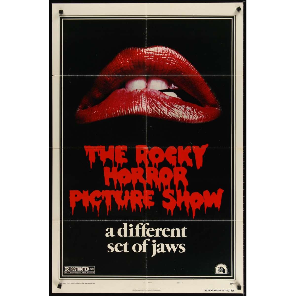rocky horror picture show original movie poster