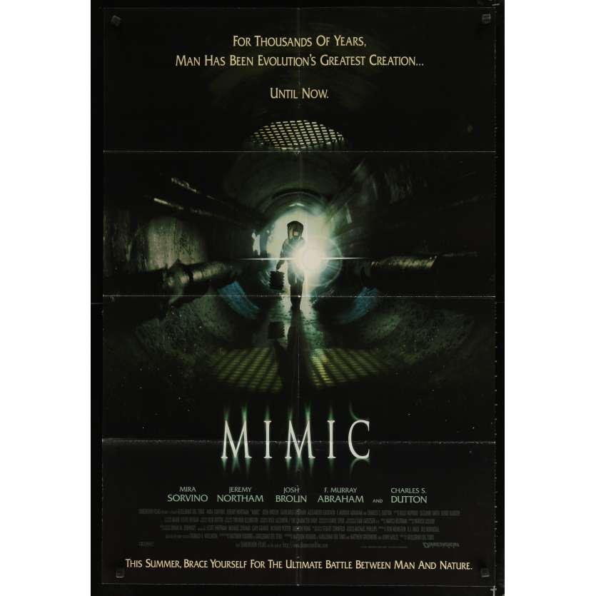 MIMIC Movie Poster - Guillermo del Toro