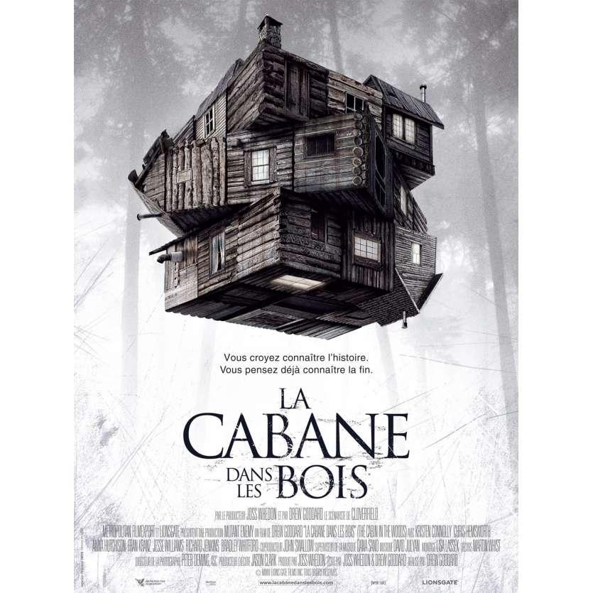 CABANE DANS LES BOIS Affiche du film - 40x60 cm