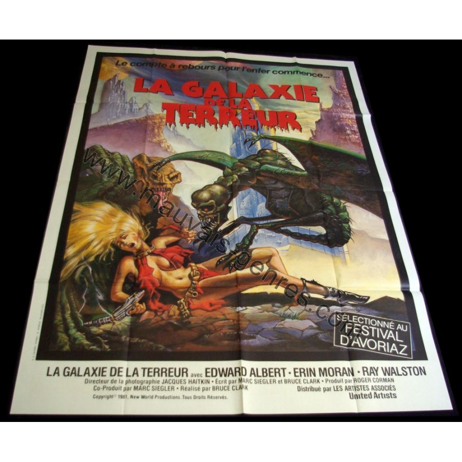 GALAXY OF TERROR Movie Poster