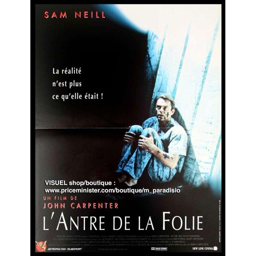 L'ANTRE DE LA FOLIE Affiche du film - 120x160 cm