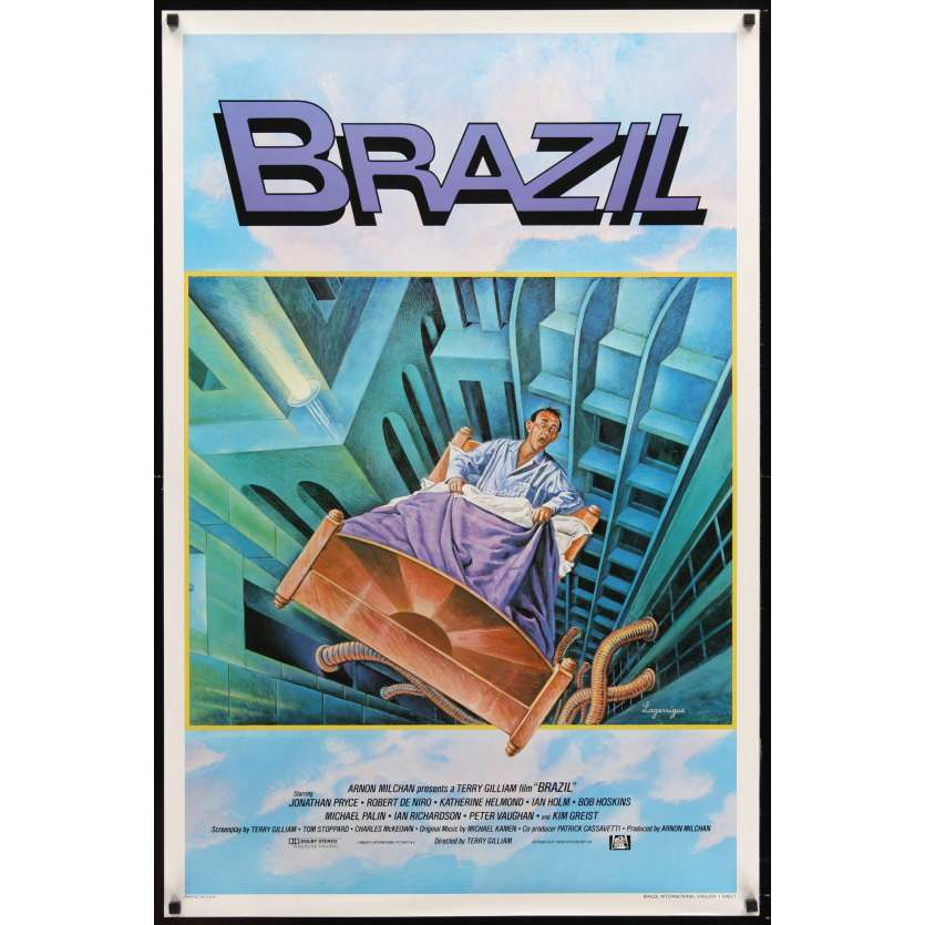 BRAZIL int'l 1sh Movie Poster '85 Terry Gilliam