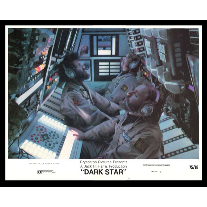 DARK STAR 11x14 Lobby Card '75 John Carpenter LC N3