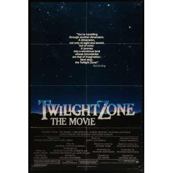 TWILLIGHT ZONE Movie Poster '84 Steven Spielberg, Joe Dante