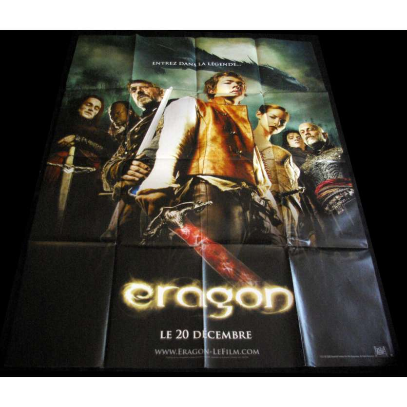 ERAGON French Movie Poster 47x63 '06 style A