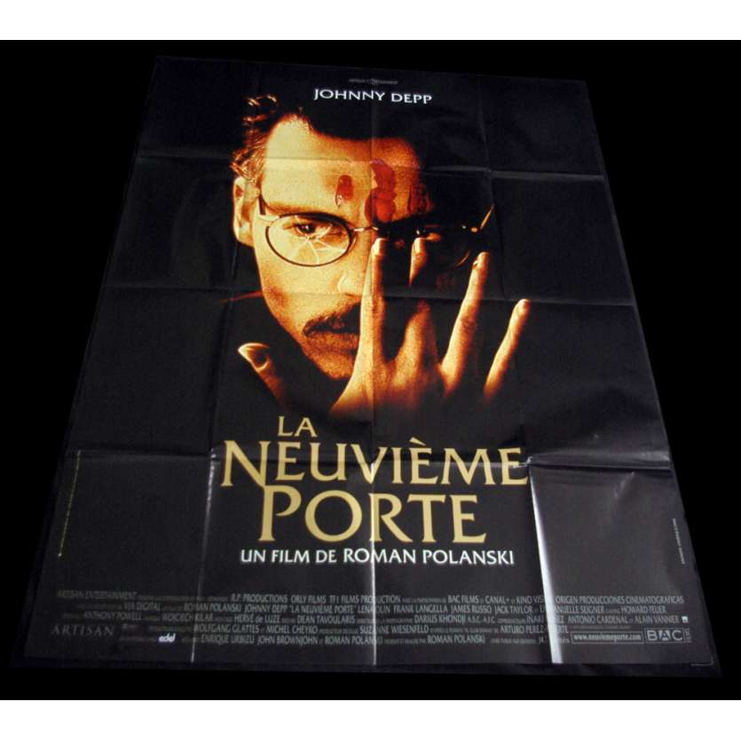 LA NEUVIEME PORTE Affiche de Film 120x160 FR 'XX Roman Poalnski, Johnny Depp