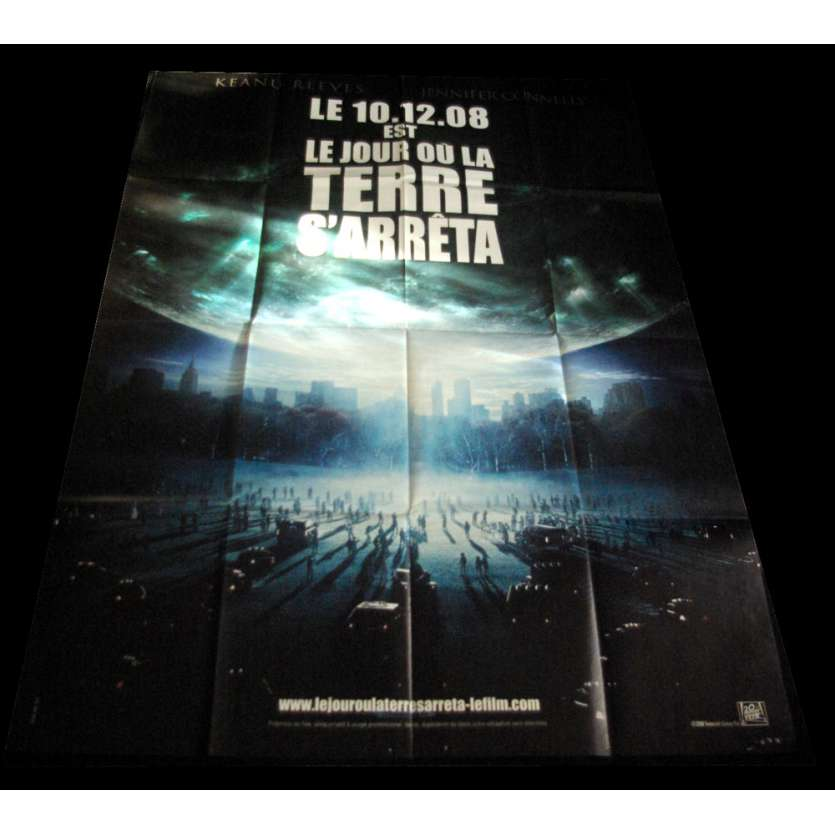 LE JOUR OU LA TERRE S'ARRETA Affiche 120x160 FR 'XX Keanu Reeves
