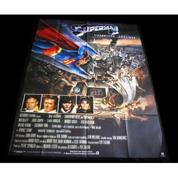 SUPERMAN II Affiche de film 120x160 '80 Christopher Reeves