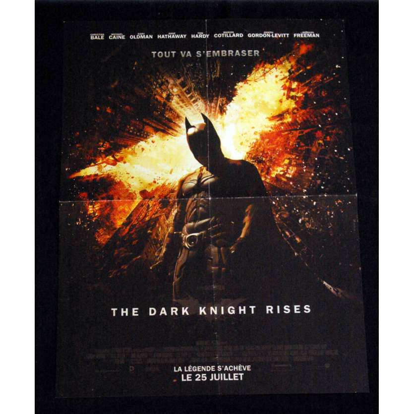 THE DARK KNIGHT RISES French Movie Poster '12 15x21