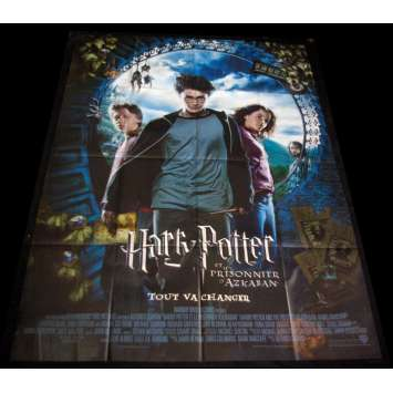 HARRY POTTER 3 French Movie Poster 47x63 '04 Daniem Radcliffe, Emma Watson