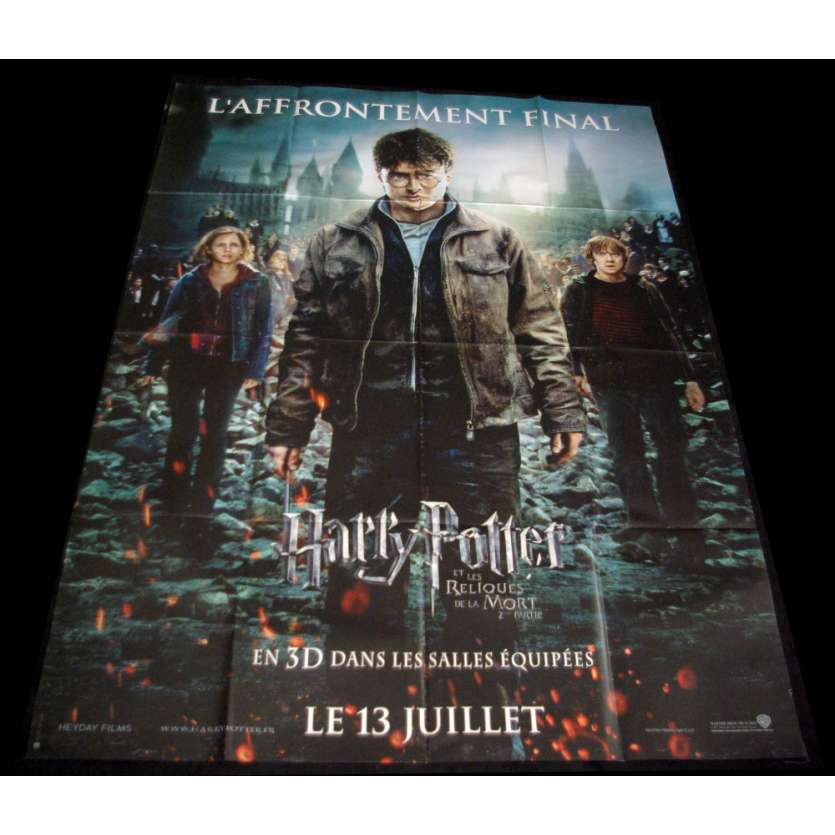HARRY POTTER 8 French Movie Poster 47x63 '10 Daniem Radcliffe, Emma Watson