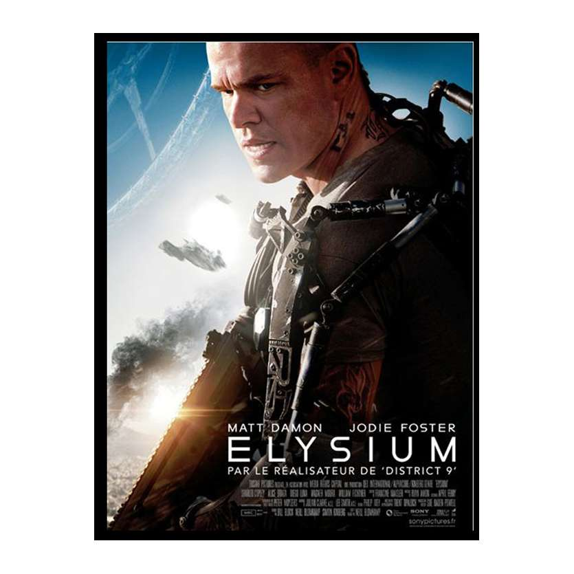ELYSIUM French Movie Poster 15x21 '13 Matt Damon