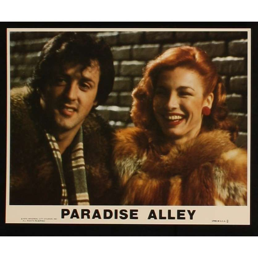 LA TAVERNE DE L'ENFER Photo du film US N2 '78 Sylvester Stallone, Paradise Alley
