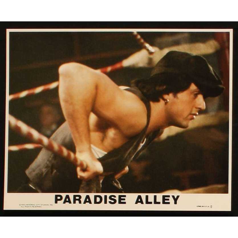 PARADISE ALLEY 8x10 mini LC N4 '78 Sylvester Stallone