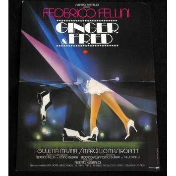 GINGER ET FRED Affiche de film 40x60 '85 Federico Fellini, Mastroiani