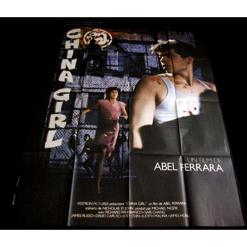 CHINA GIRL French Movie Poster 47x63 '87 Abel Ferrara