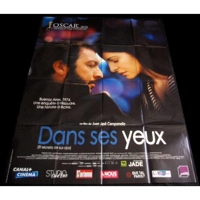 THE SECRET OF THEIR EYES French Movie Poster 47x63 '09 el secreto de sus ojos