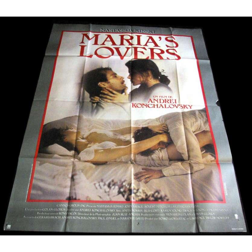 MARIA'S LOVERS Affiche de film 120x160 '84 Natasjja Kinski