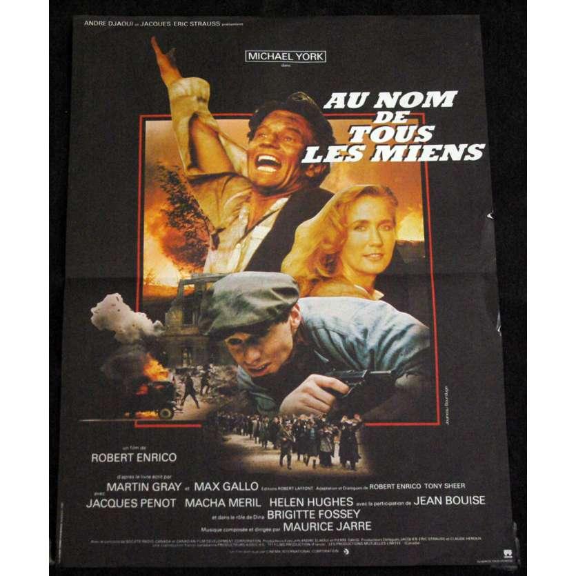 AU NOM DE TOUS LES MIENS Affiche de film 40x60 '83 Michael York