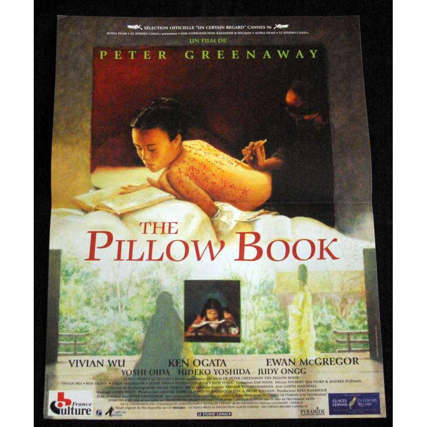 PILLOW BOOK French Movie Poster 15x21 '96 Peter Greenaway