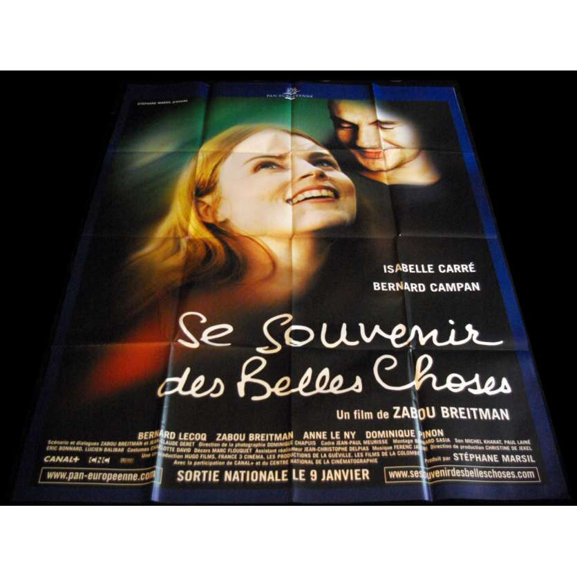 BEAUTIFUL MEMORIES French Movie Poster 47x63- 2002 - Zabou Breitman, Isabelle Carré