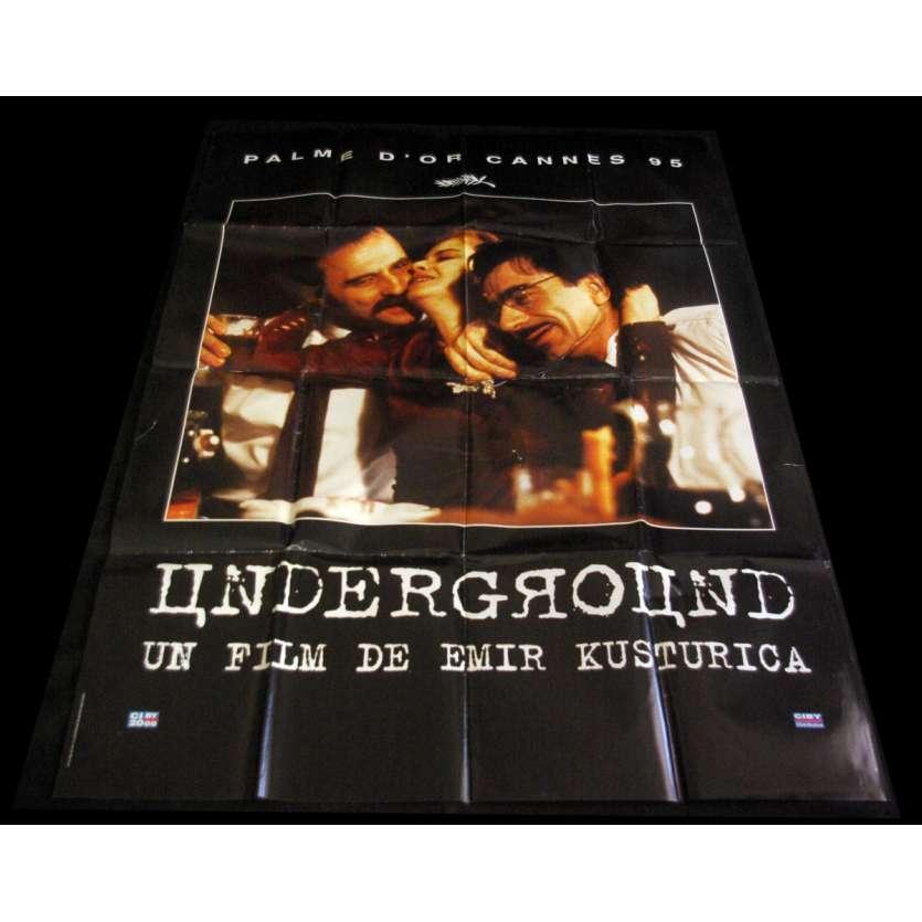 UNDERGROUND Affiche de film 120X160 B - 1995 - Miki Manojlovic, Emir Kusturica