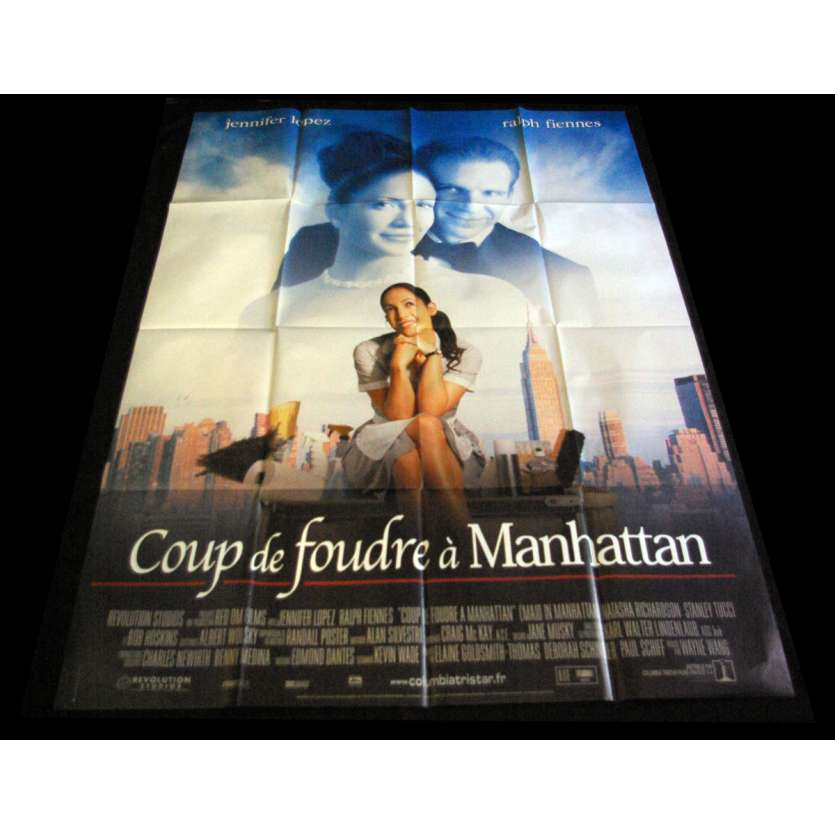 MAID IN MANHATTAN French Movie Poster 47x63- 2002 - Wayne Wang, Jennifer Lopez, Ralph Fiennes