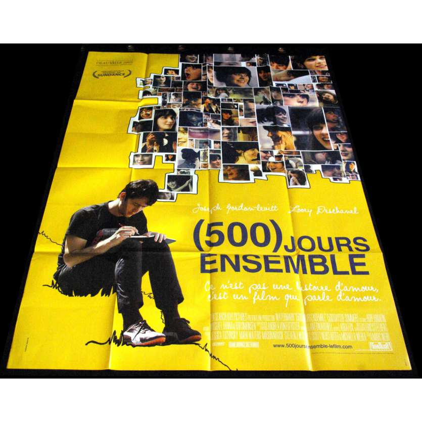 500 JOURS ENSEMBLE Affiche de film 120X160 - 2009 – Zooey Deschanel