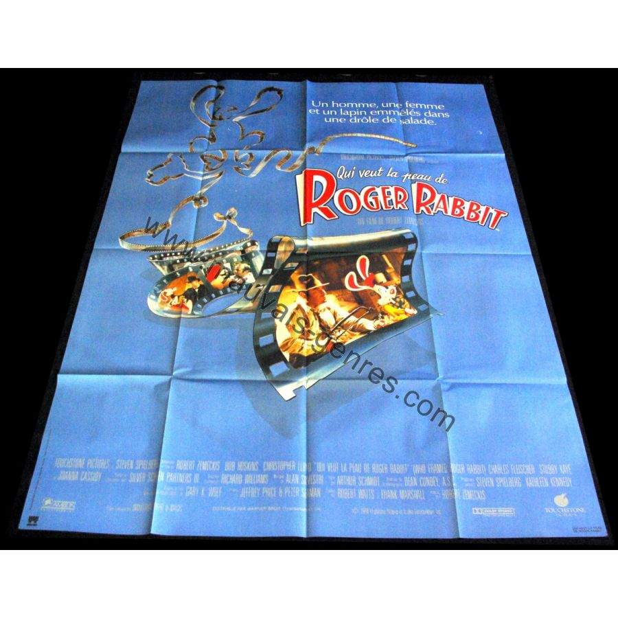 Home  Movie posters  WHO FRAMED ROGER RABBIT French Movie Poster