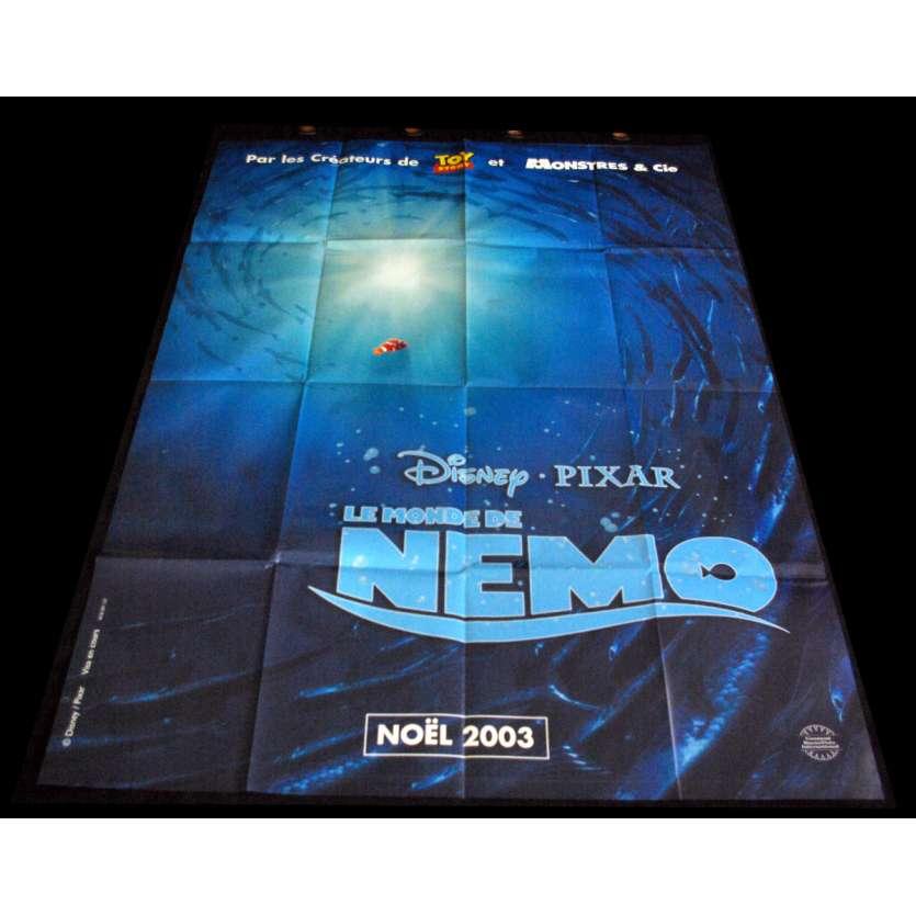 LE MONDE DE NEMO Affiche de film 120X160 - 2003 - Disney