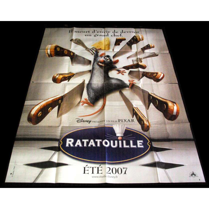 RATATOUILLE Affiche de film 120X160 - 2007 - Brad Bird