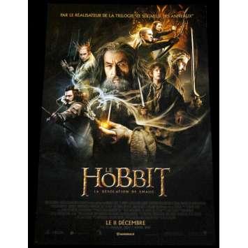 HOBBIT, DESOLATION OF SMAUG French Movie Poster 15x21- 2013 - Peter Jackson, Ian McKellen