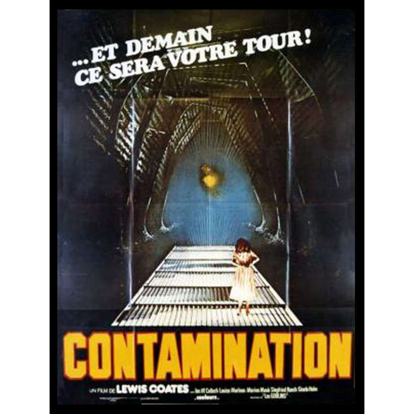 ALIEN CONTAMINATION French Movie Poster 1p '80 Luigi Cozzi Horror