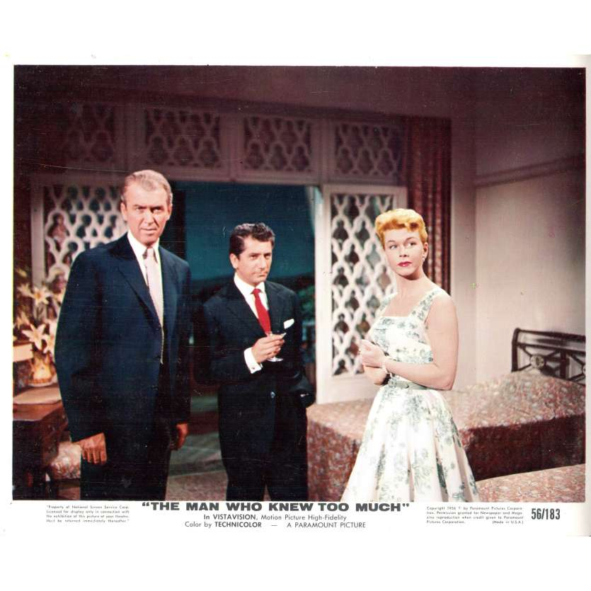 THE MAN WHO KNEW TOO MUCH Press Still 8x10 N1 - 1956 - Alfred Hitchcock