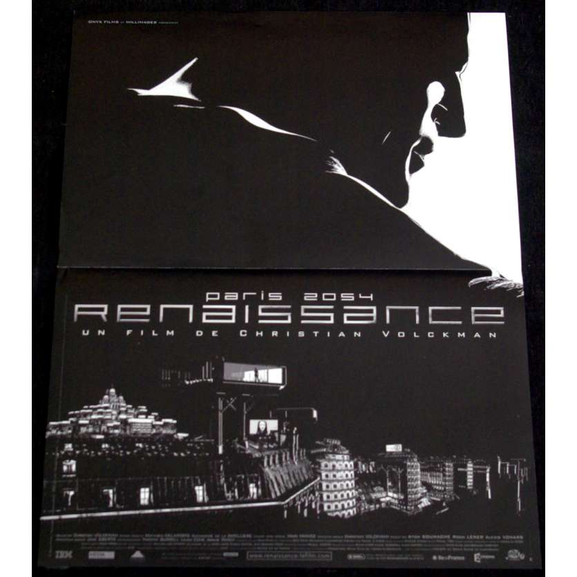 RENAISSANCE French Movie Poster 15x21- 2006 - Christian Volckman, Daniel Craig