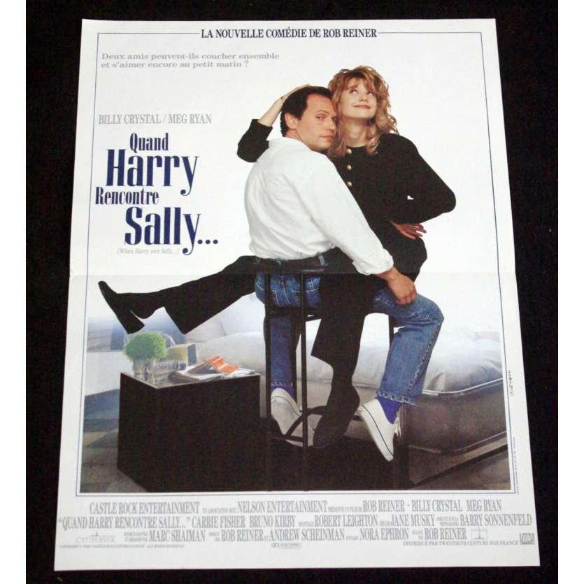 QUAND HARRY RENCONTRE SALLY Affiche de film 40x60 - 1989 - Meg Ryan, Rob Reiner