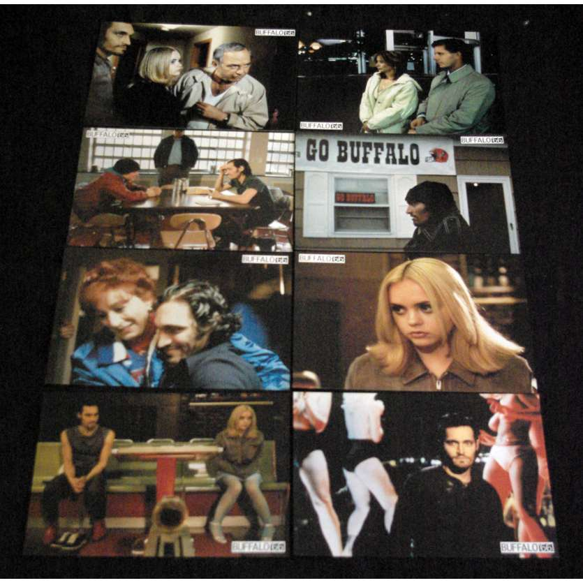 BUFFALO 66 French Lobby Cards 9x12- 1998 - Vincent Gallo, Christina Ricci
