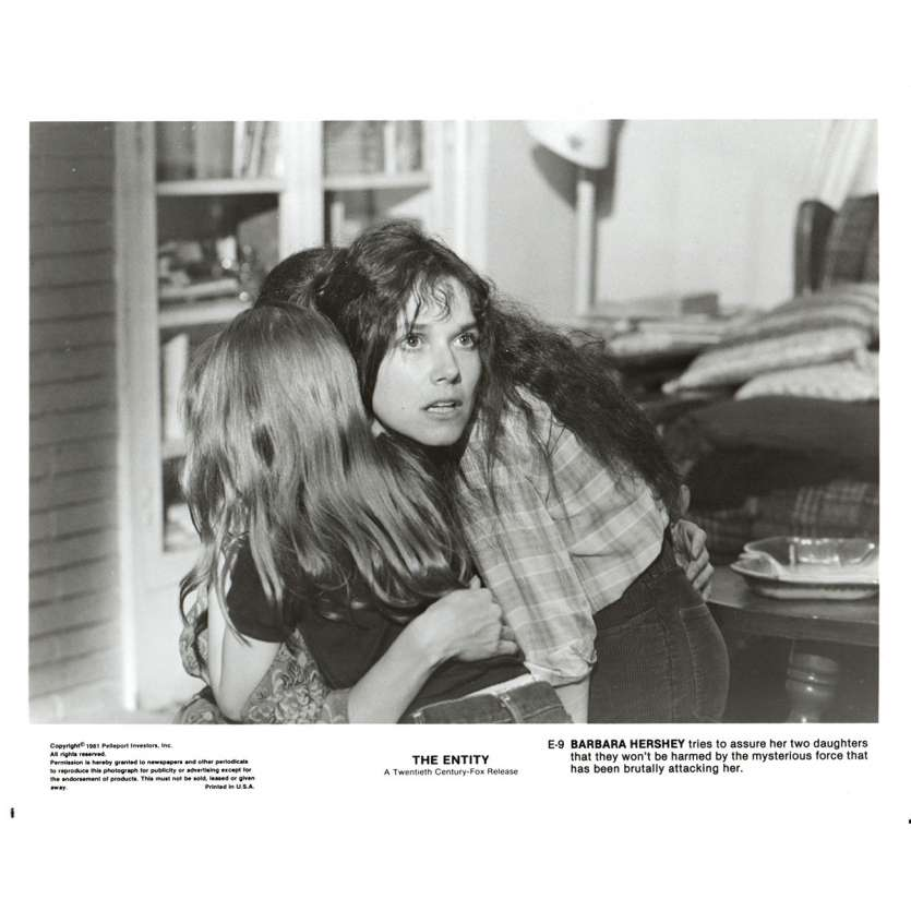 THE ENTITY US Press Still 8x10- 1981 - Sidney J. Furie, Barbara Hershey