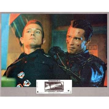 TERMINATOR 2 Photo de film N5 21x30 - 1991 - Arnold Schwarzenegger, James Cameron