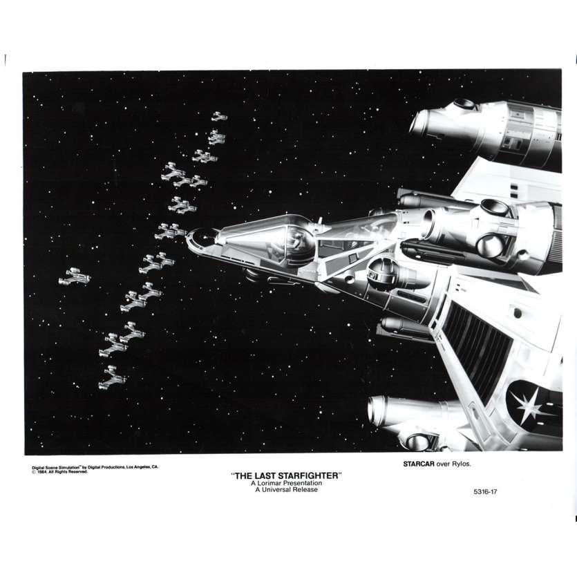 STARFIGHTER Photo de presse N1 20x25 - 1984 - Lance Guest, Nick Castle