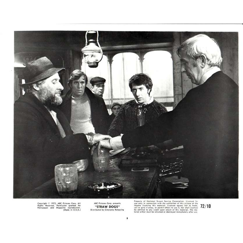 STRAW DOGS 8x10 still N3 '72 Dustin Hoffman, directed by Sam Peckinpah