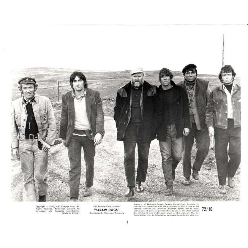 STRAW DOGS 8x10 still N2 '72 Dustin Hoffman, directed by Sam Peckinpah