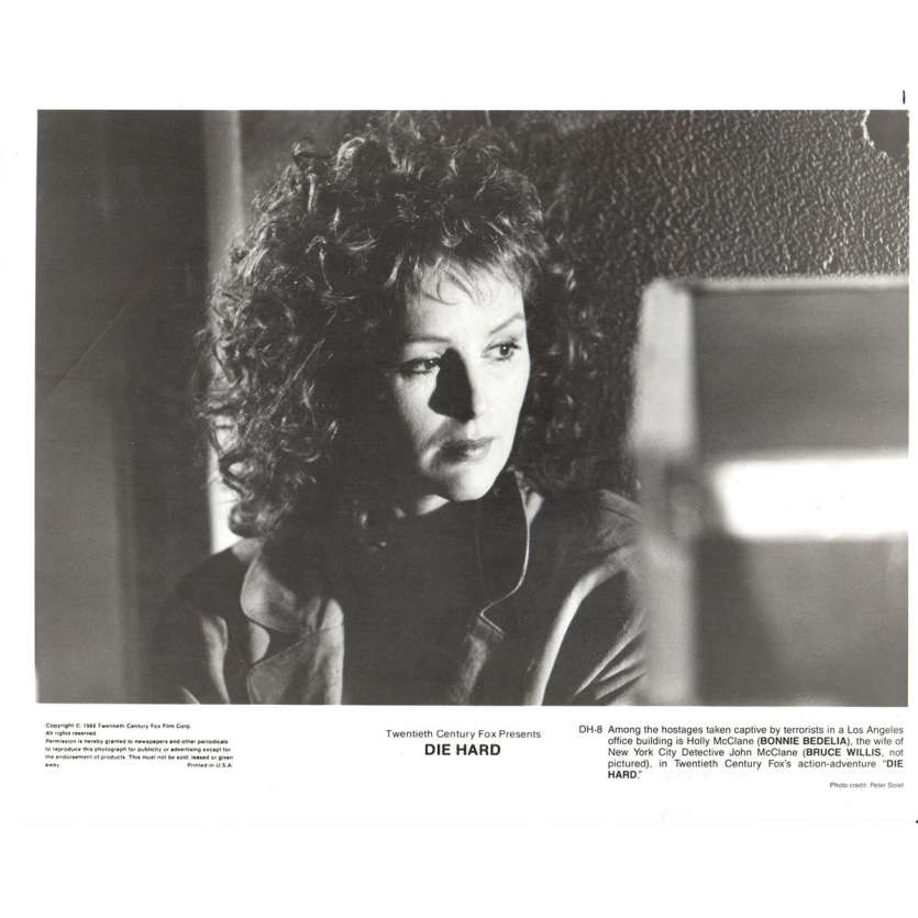 PIEGE DE CRISTAL Photo de film N4 20x25 - 1988 - Bruce Willis, John Mc Tiernan