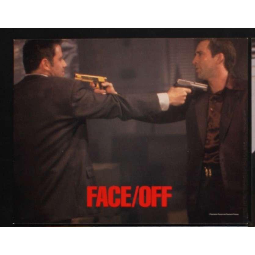 FACE OFF US Lobby Card 11x14- 1996 - John Woo, Nicolas Cage
