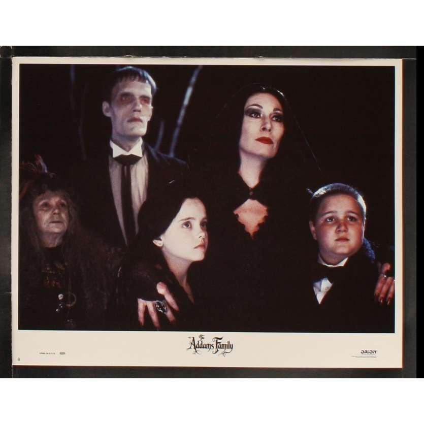 ADAMS FAMILY US Lobby Card 11x14- 1991 - Barry Sonnenfeld, Raul Julia