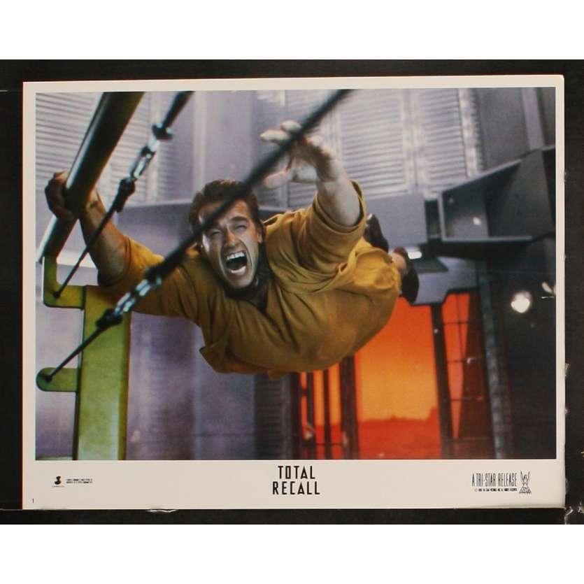 TOTAL RECALL Photo de film N1 28x36 - 1990 - Arnold Schwarzenegger, Paul Verhoeven