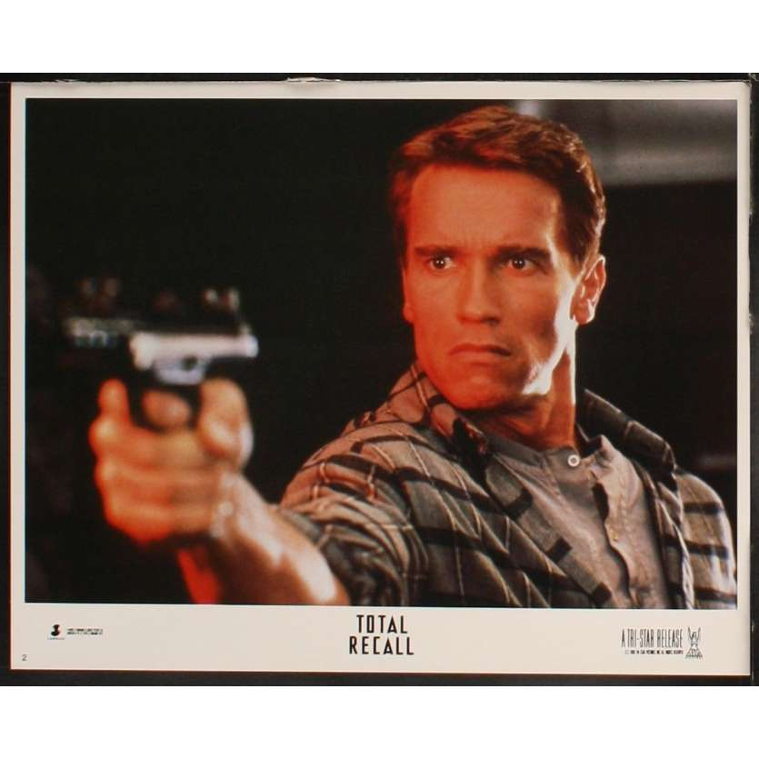 TOTAL RECALL Photo de film N3 28x36 - 1990 - Arnold Schwarzenegger, Paul Verhoeven